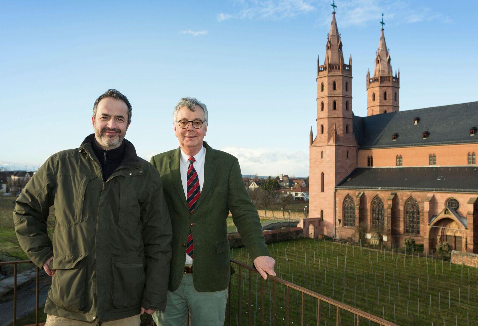 (C) Foto Andreas Durst: Heiner Maleton und Wilhelm G. Steifensand