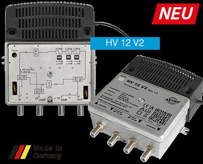 HV 12 V2 Breitbandkaskaden Vorverstärker