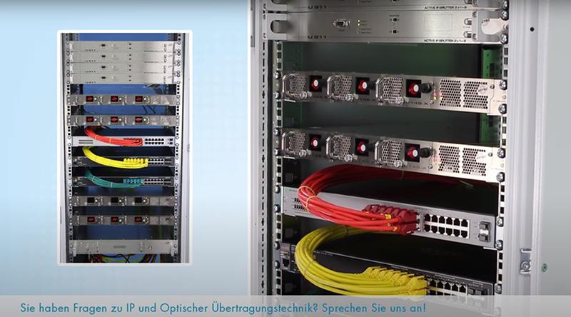 Aufbau einer IP Kopfstelle von ASTRO