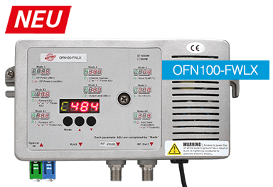 OFN100-FWLX neuer Optischer Fiber Node