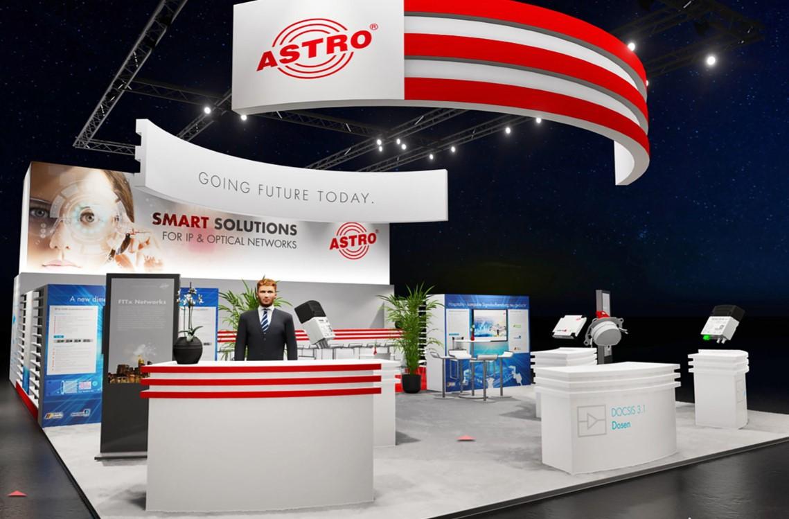 Digitale Messe von ASTRO Strobel Kommunikationssysteme