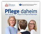 "Titelbild Broschüre ""Pflege daheim"""
