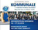 """Messeankündigung """"Kommunale 2019"""""""