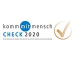 Logo kommmitmensch Check 2020