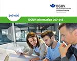 DGUV Information 207-016 Neu- und Umbauplanung im Krankenhaus unter Gesichtspunkten des Arbeitsschutzes