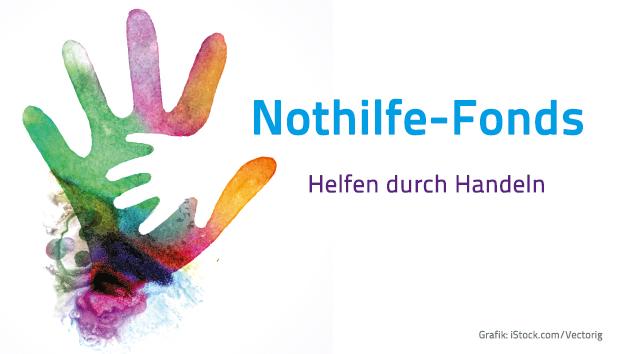 Nothilfe-Fonds. Grafik: iStock.com/Vectorig; Gestaltung: Annette Lührs