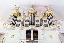 Orgel der Kirche Ilten. Foto: KG Ilten/Laurinat