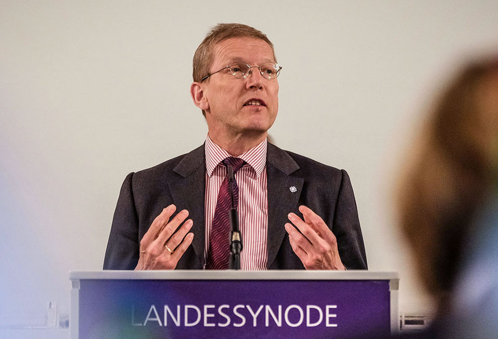Landessuperintendent Hans-Christian Brandy über die Hintergründe der neuen Handreichung. Foto: Jens Schulze/Landeskirche Hannovers