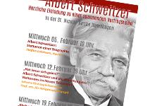 Alle Vortragstermine auf einen Blick. Plakat: Kirchengemeinde Hännigsen-Obershagen