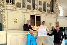 Spende für die Orgel in Ilten. Foto: Sievert Herms