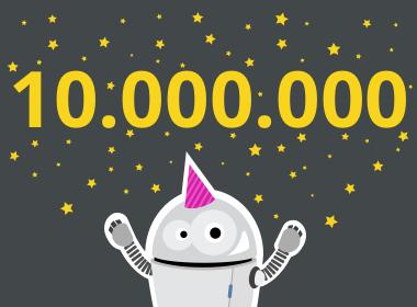 10.000.000 Artikelaufrufe!