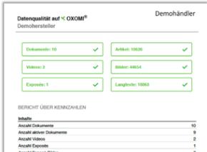 PDF-Export Datenqualitaet