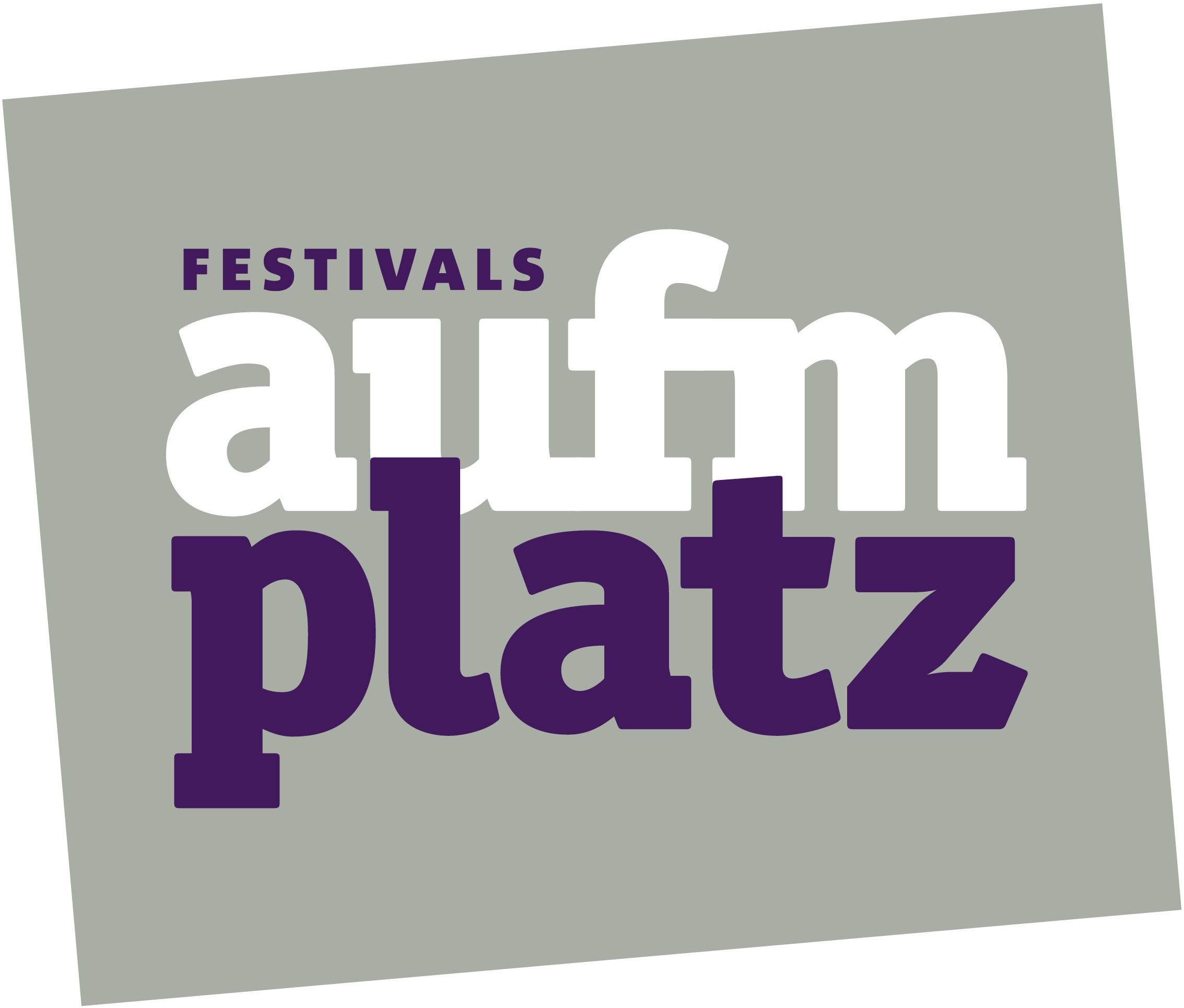 Wortmarke Festivals aufm Platz