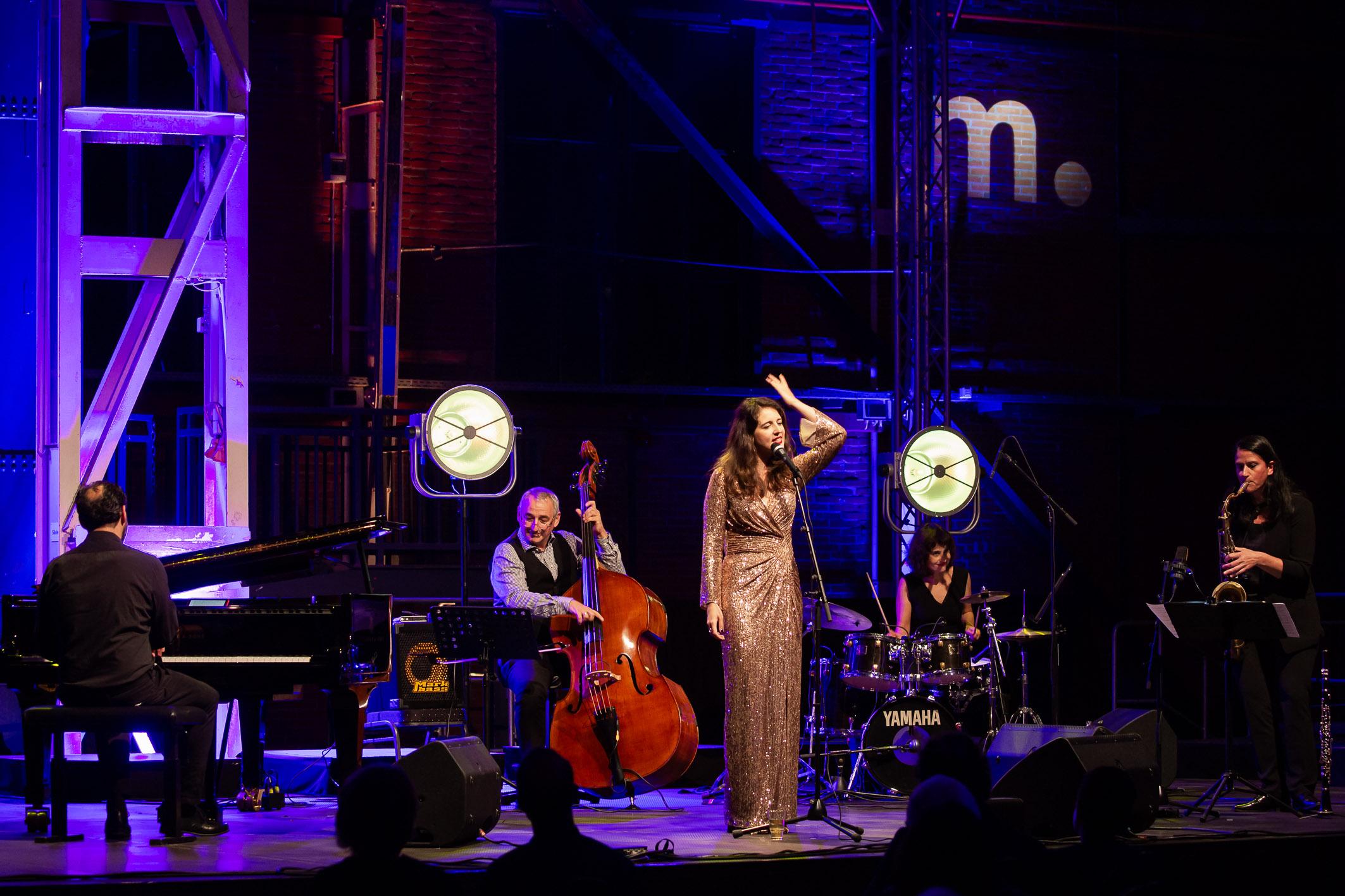 Ethel Merhaut & Quartett (c) Helge Krückeberg