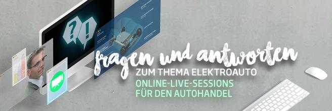 Online-Live-Sessions für den Autohandel