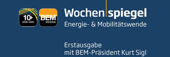 BEM-Wochenspiegel / Energie- und Mobilitätswende