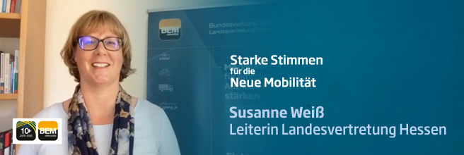 Starke Stimmen für die Neue Mobilität - mit Susanne Weiß