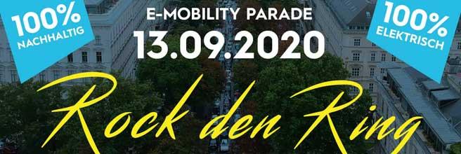 3. eMobility Parade »Rock den Ring« 2020