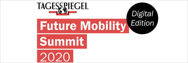Tagesspiegel Future Mobility Summit - Digital Edition