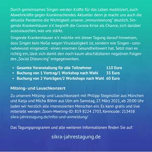 Flyer der SiKra-Jahrestagung 2021 - Seite 2