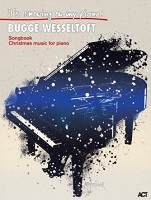 "Titelblatt: Songbook ""It' snowing on my piano"", Brugge Wesseltoft"