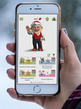 Startbildschirm der App
