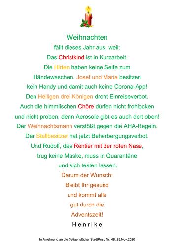 'Weihnachtsbaum' von Henrike Graef
