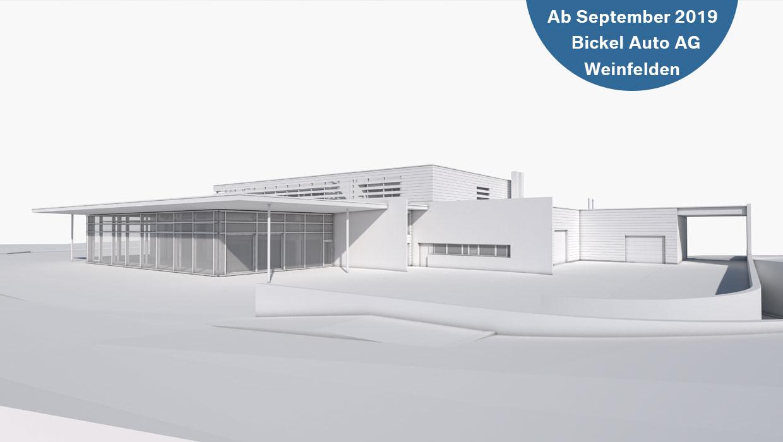 Neubau @ Bickel Auto AG Weinfelden