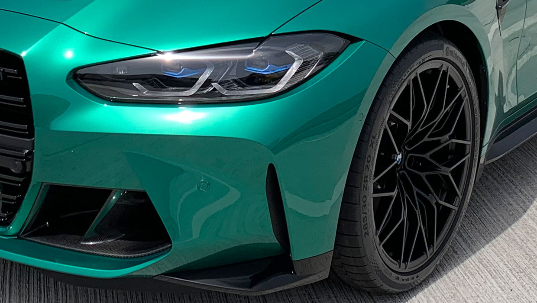 BMW M3 - M Performance Sommerkompletträder