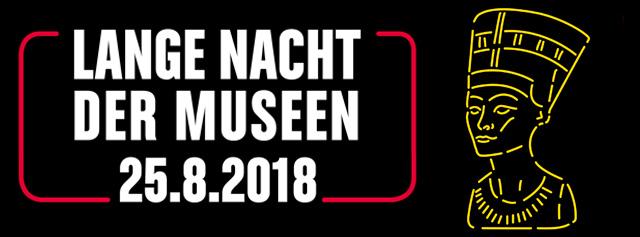 Flyer Lange Nacht der Museen 2018