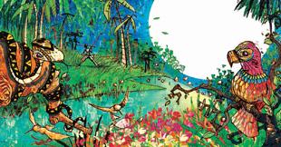 Illustration des argentinischen Künstlers Rodrigo Folgueira
