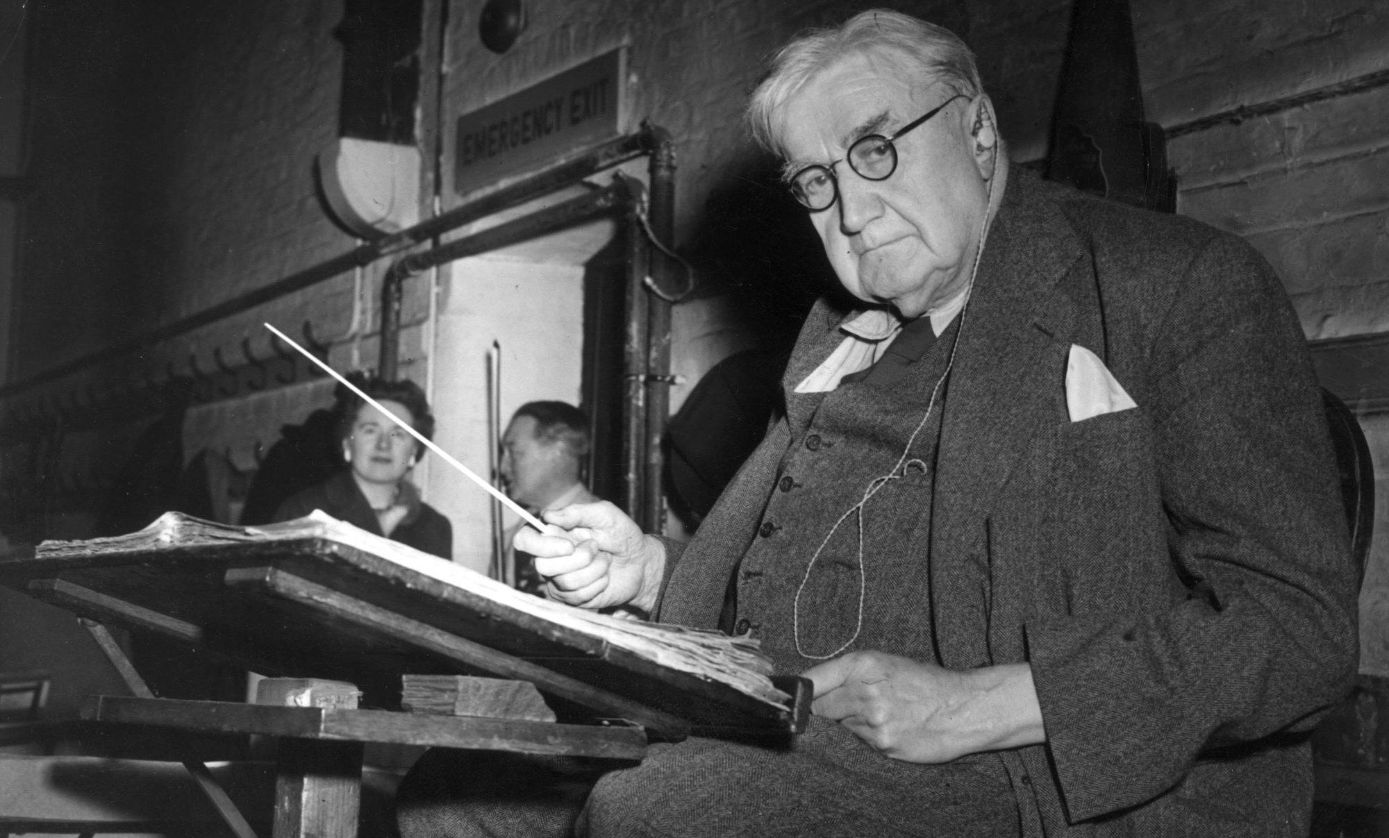 Ralph Vaughan Williams im Jahr 1956 (Topical Press Agency / Hulton Archive / Getty)