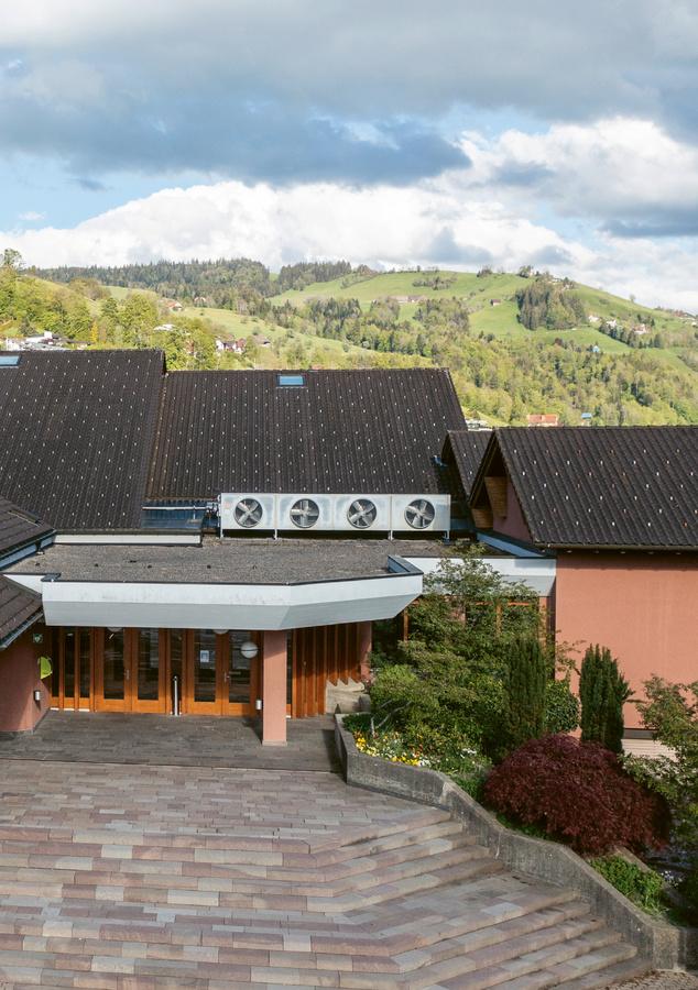 Gemeindesaal Maienmatt, Oberägeri (Foto: Usha Fath)