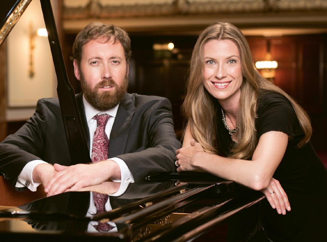 Matthew Rose und Helen Collyer