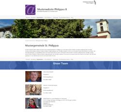 Musterwebsite Philippus 8