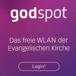 godspot - Das freie WLAN der Evangelischen Kirche