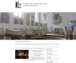 Screenshot grosskarolinenfeld-evangelisch.de