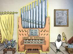 Orgelzimmer kirche-entdecken.de