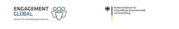 Engagement Global und BMZ Logo