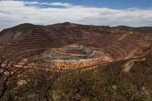 Mine in Honduras