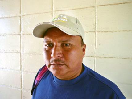 Gewerkschafter Moises Sánchez