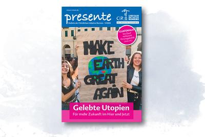 Cover der presente 1/2020 zu Gelebten Utopien