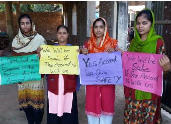Arbeiter*innen Accord Bangladesch