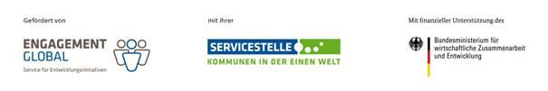 Logo der Servicestelle Kommunen in der einen Welt