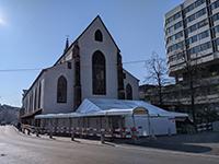 Church in Basel, called Predigerkirche