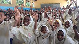 School children on Pemba Island