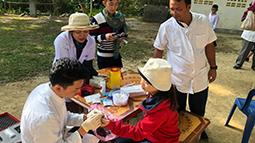 Study site in Laos