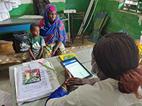Medical consultation in Chad