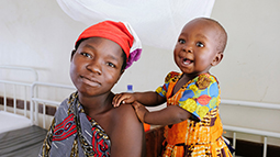 Mother and child in Tanzania