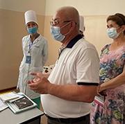 Medical staff in Uzbekistan